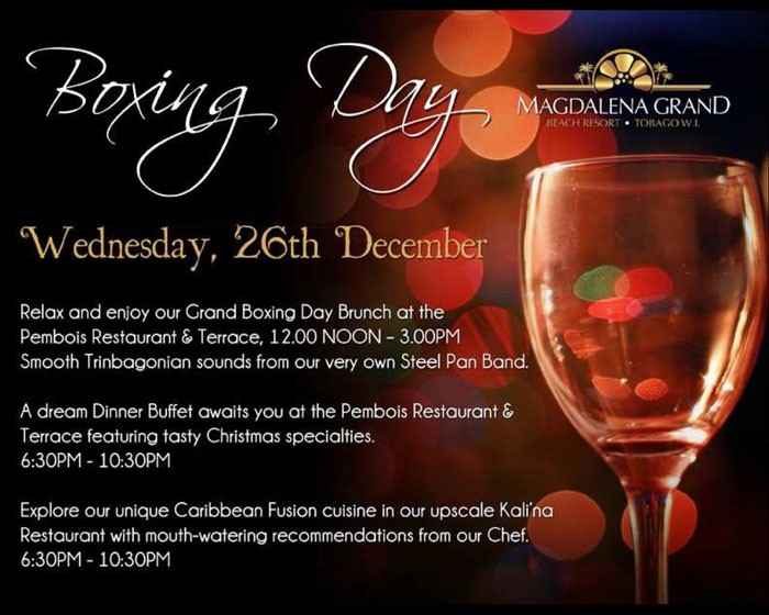 Magdalena Grand Beach Resort's Boxing Day
