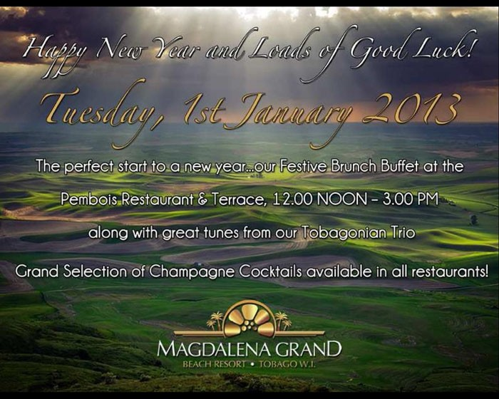 Magdalena Grand Beach Resort's New Year's Day