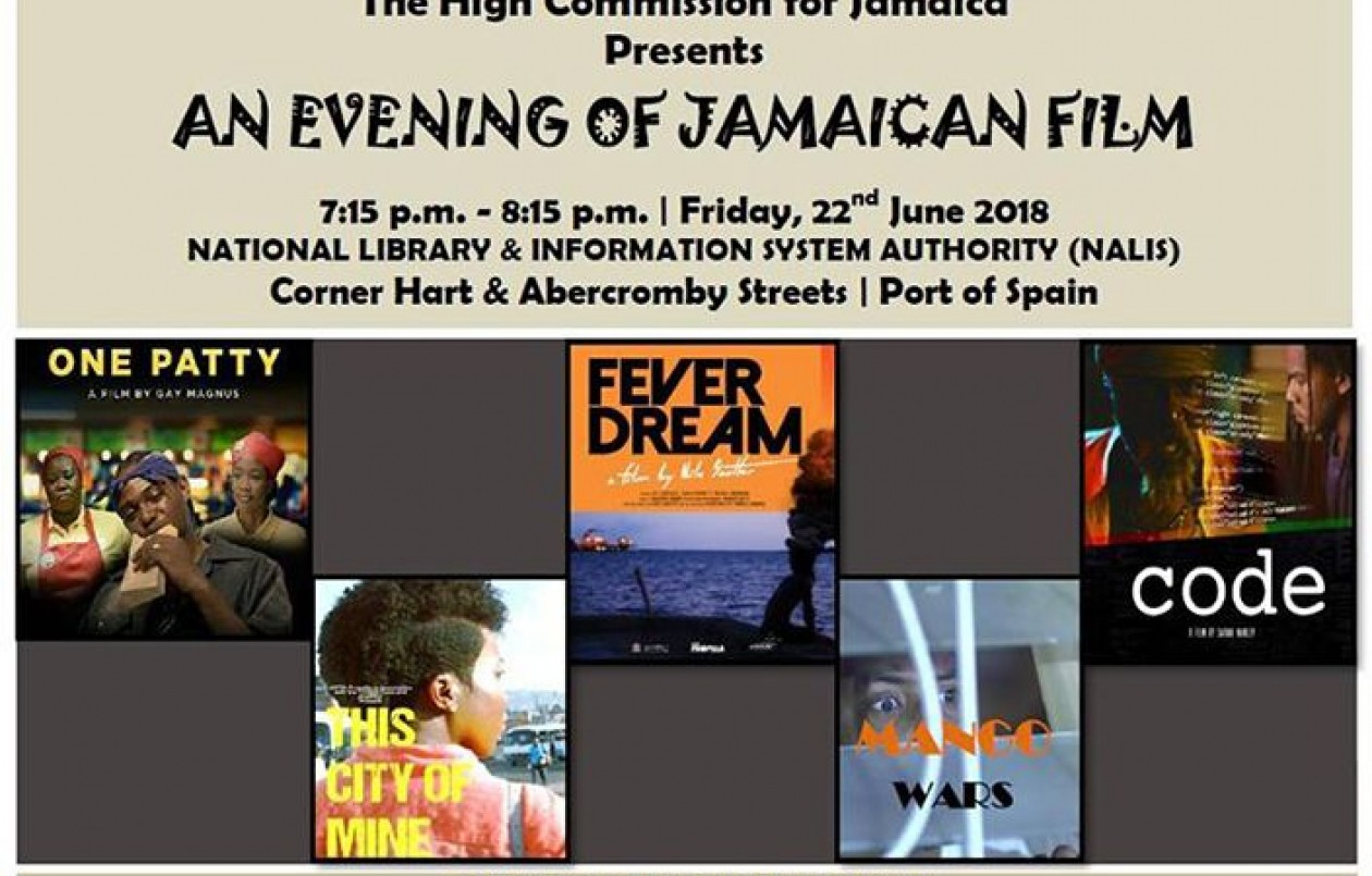 An Evening of Jamaican Film - 22.6.18