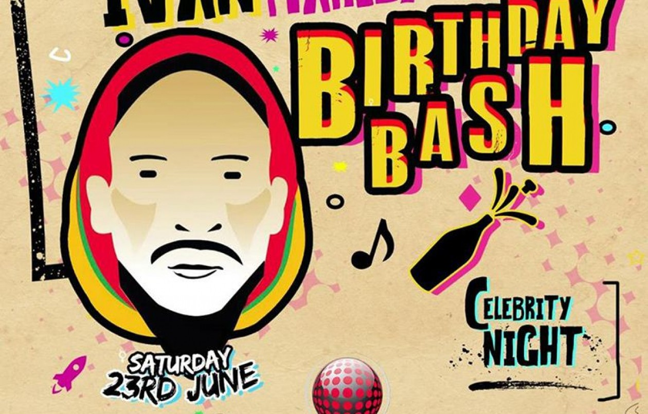 Ivan Marley Birthday Bash 2018