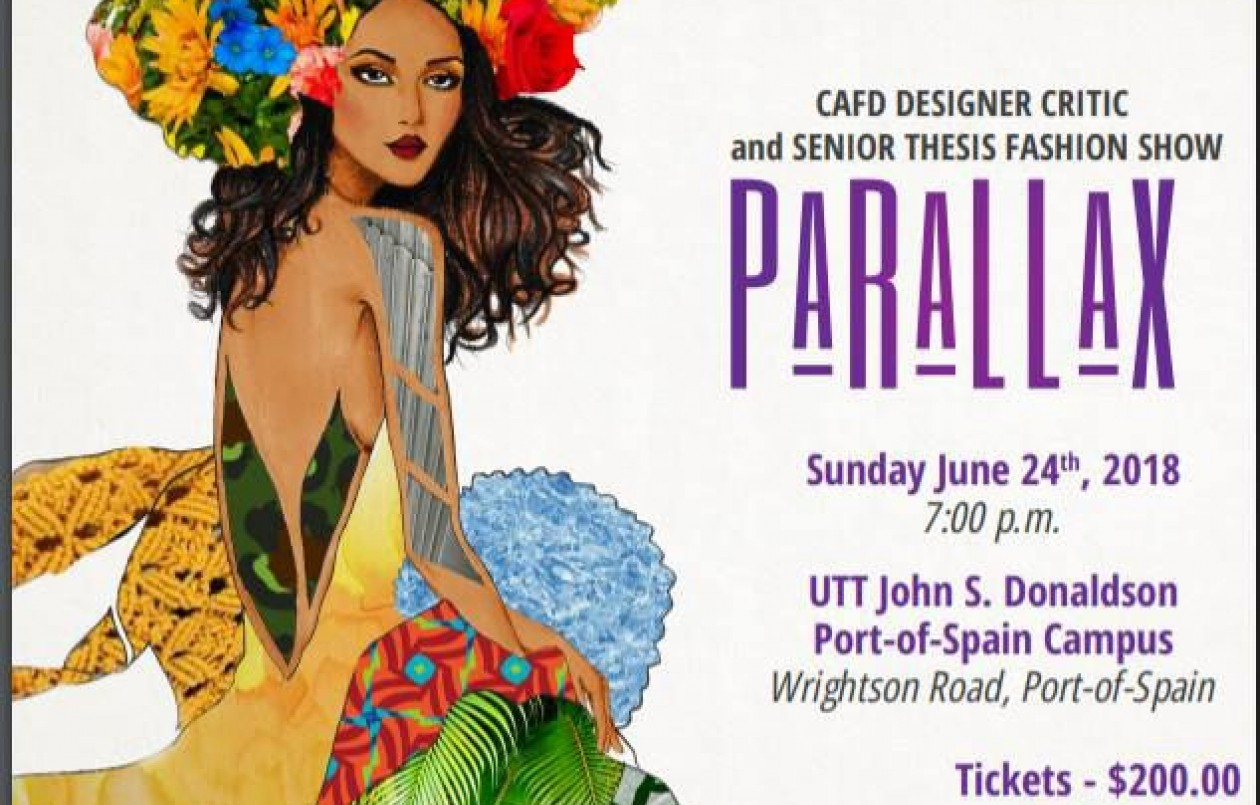 CAFD Designer Critic and Senior Fashion Show 2018: Parallax