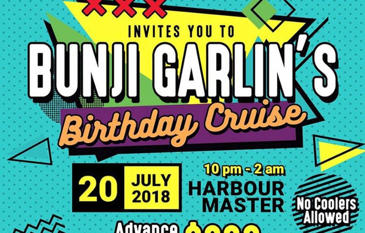 Bunji Garlin's Birthday Cruise 2018