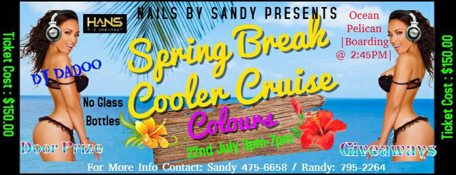 Spring Break Cooler Cruise 2018 *COLOURS*