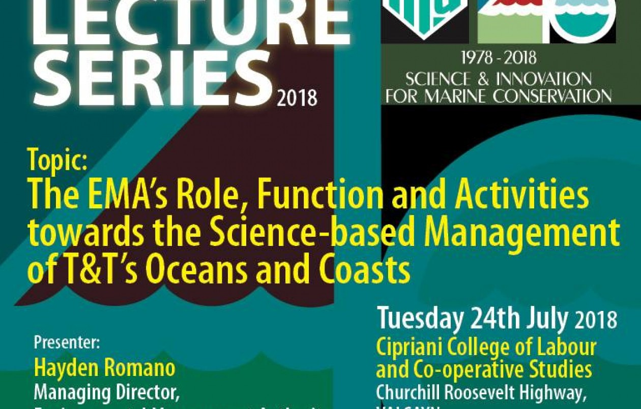 Public Lecture Series 2018: The EMA's Role - Science-based Management