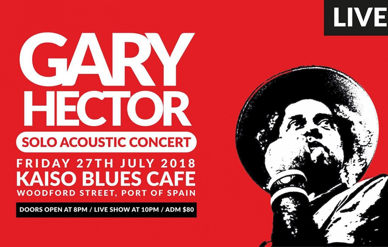 Gary Hector LIVE Solo Acoustic Concert 2018