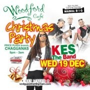 Woodford Cafe Wednesday: Kes The Band Celebrates Christmas