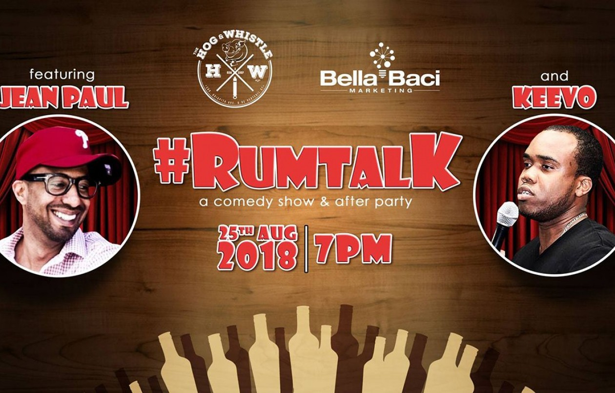 RumTalk - The Comedy Show & After Party