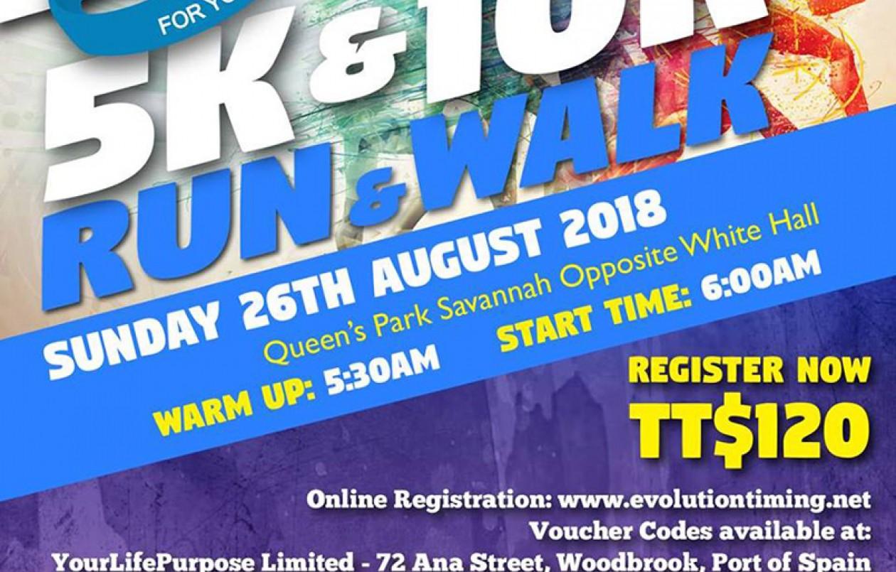 Walk of Faith for Youth 5K & 10K Run/Walk 2018