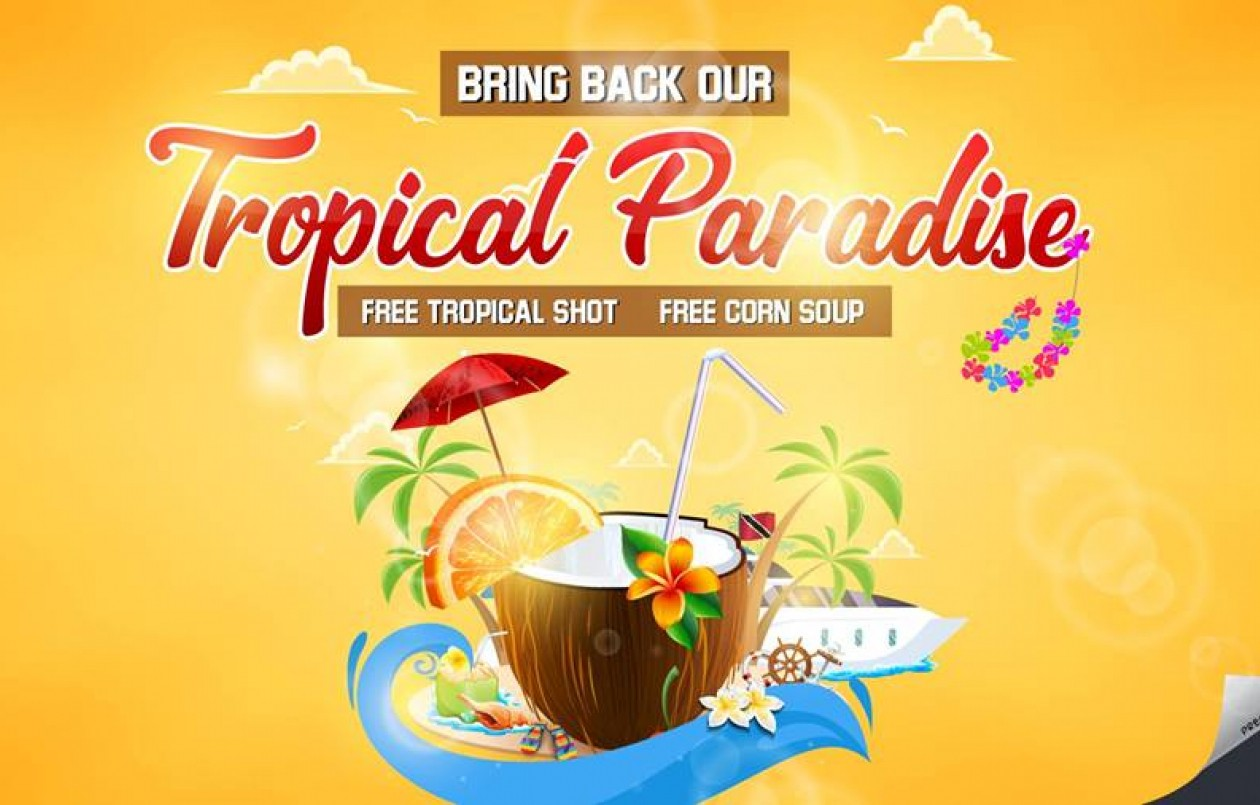 Bring Back Our Tropical Paradise