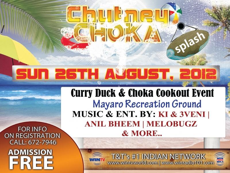 Chutney Choka Splash