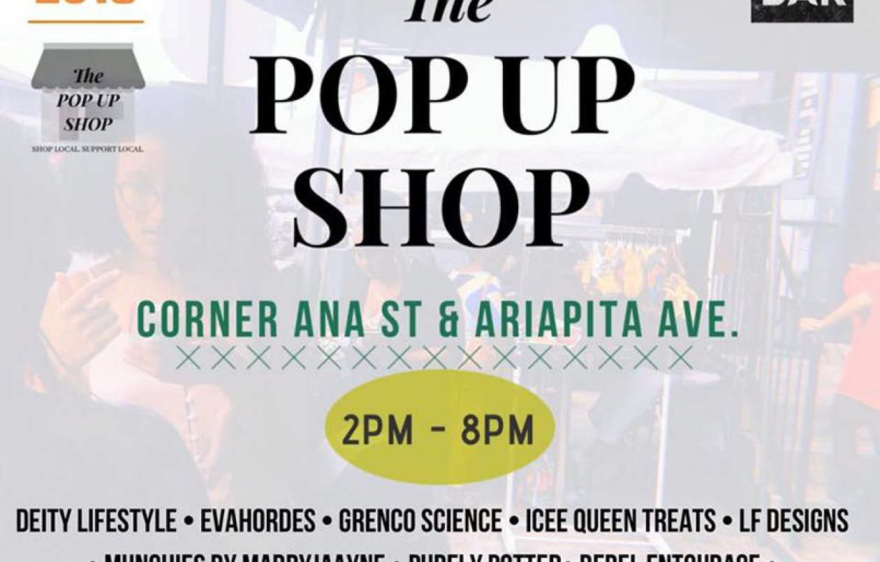 POP UP SHOP at M Bar