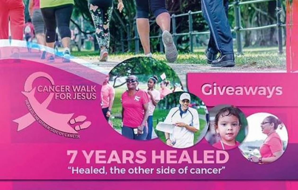 Cancer Walk For Jesus 2018