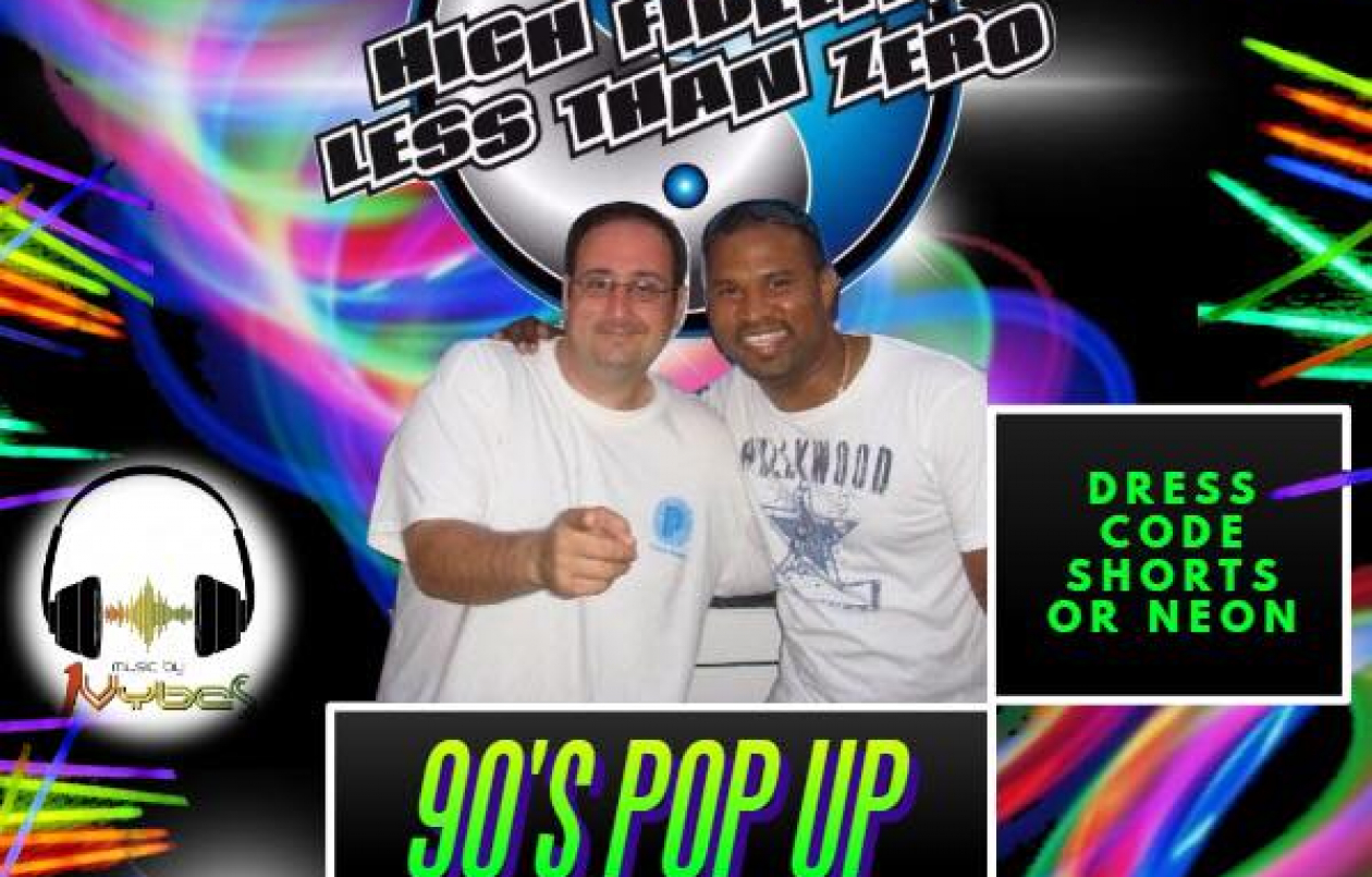 90's POP UP PARTY