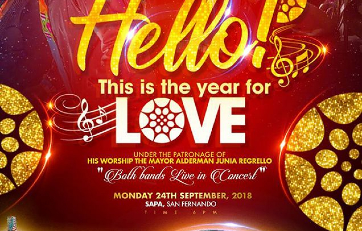 Hello! This Is the Year For Love