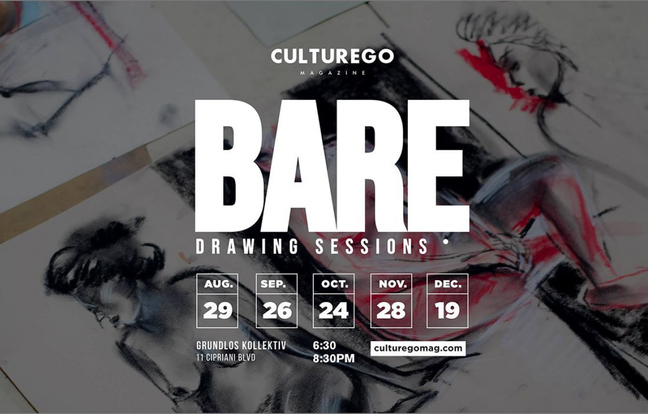 BARE: Drawing Sessions by Culturego - 26.9.18