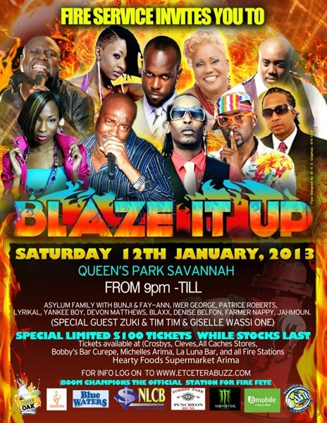 Fire Fete 2013: Blaze It Up