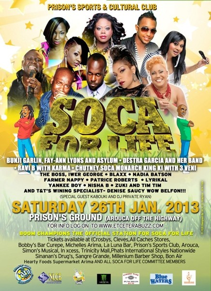 Soca For Life 2013