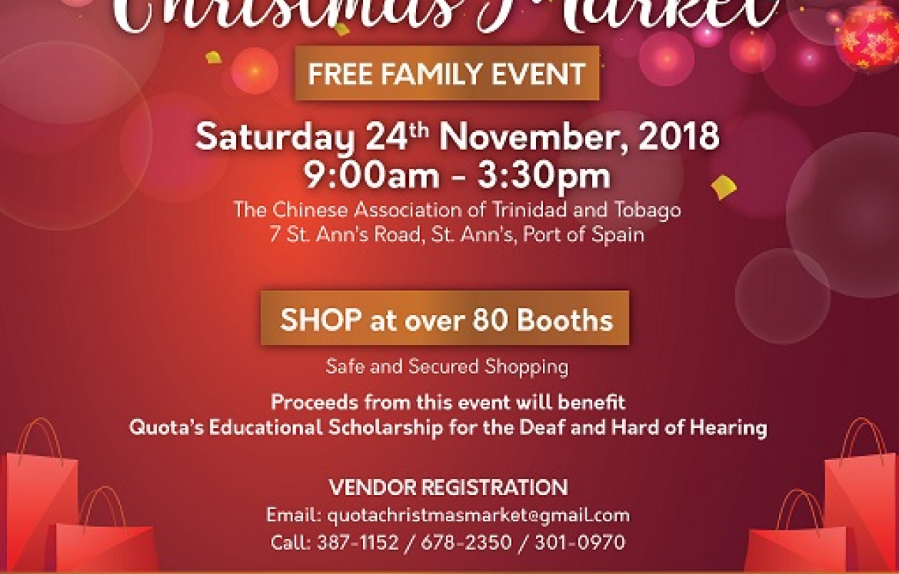QUOTA International GRAND CHRISTMAS MARKET