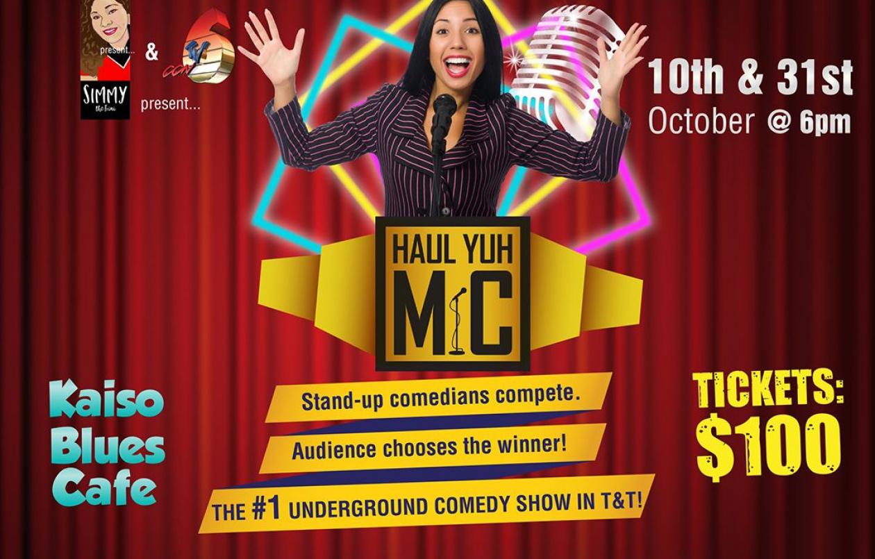 Haul Yuh Mic Comedy Challenge - 10.10.18