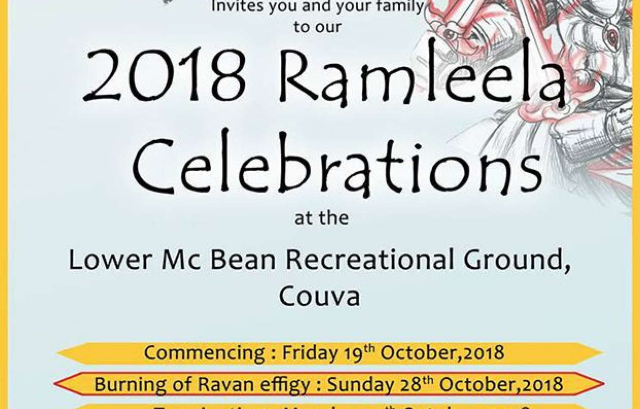 Mc Bean Ramleela & Cultural Group 2018 Ramleela Celebrations