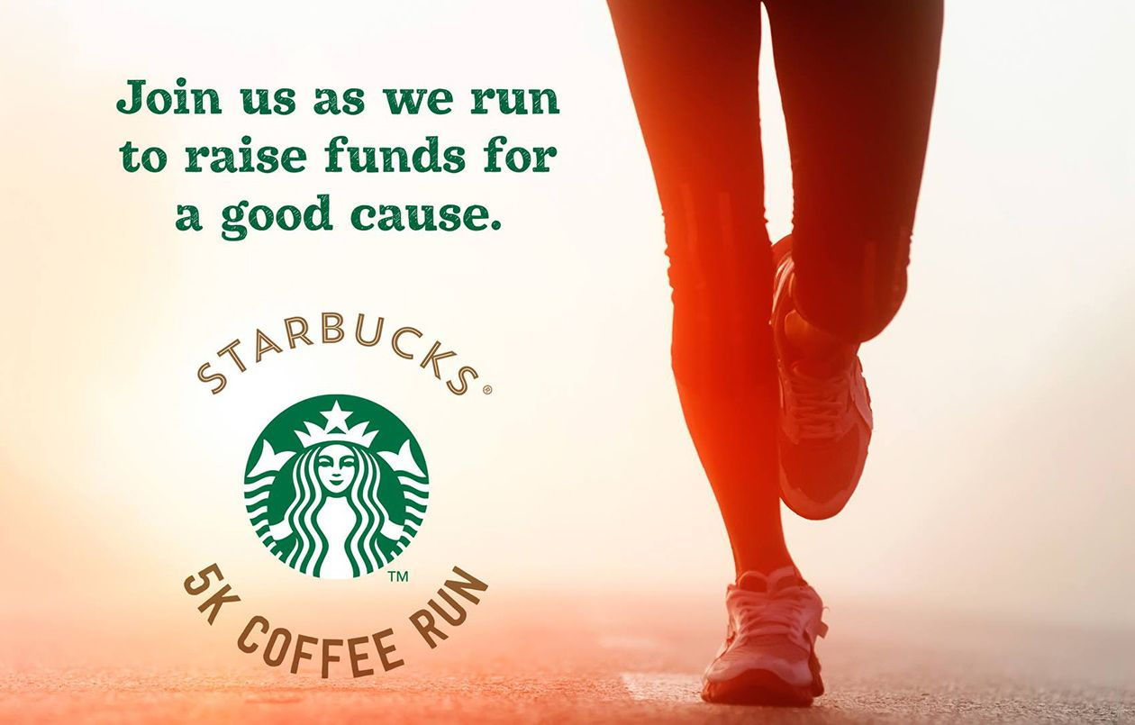 Starbucks 5K Coffee Run 2018