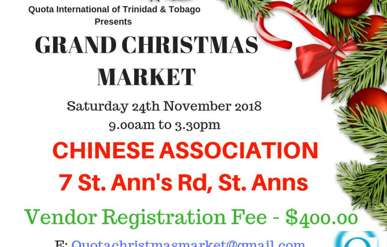 QUOTA International Grand Christmas Market ID 24629
