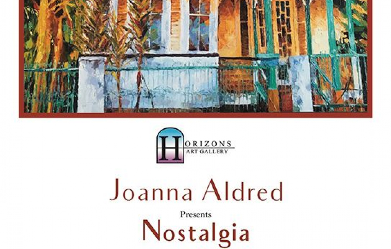 Nostalgia - An Exhibition by Joanna Aldred