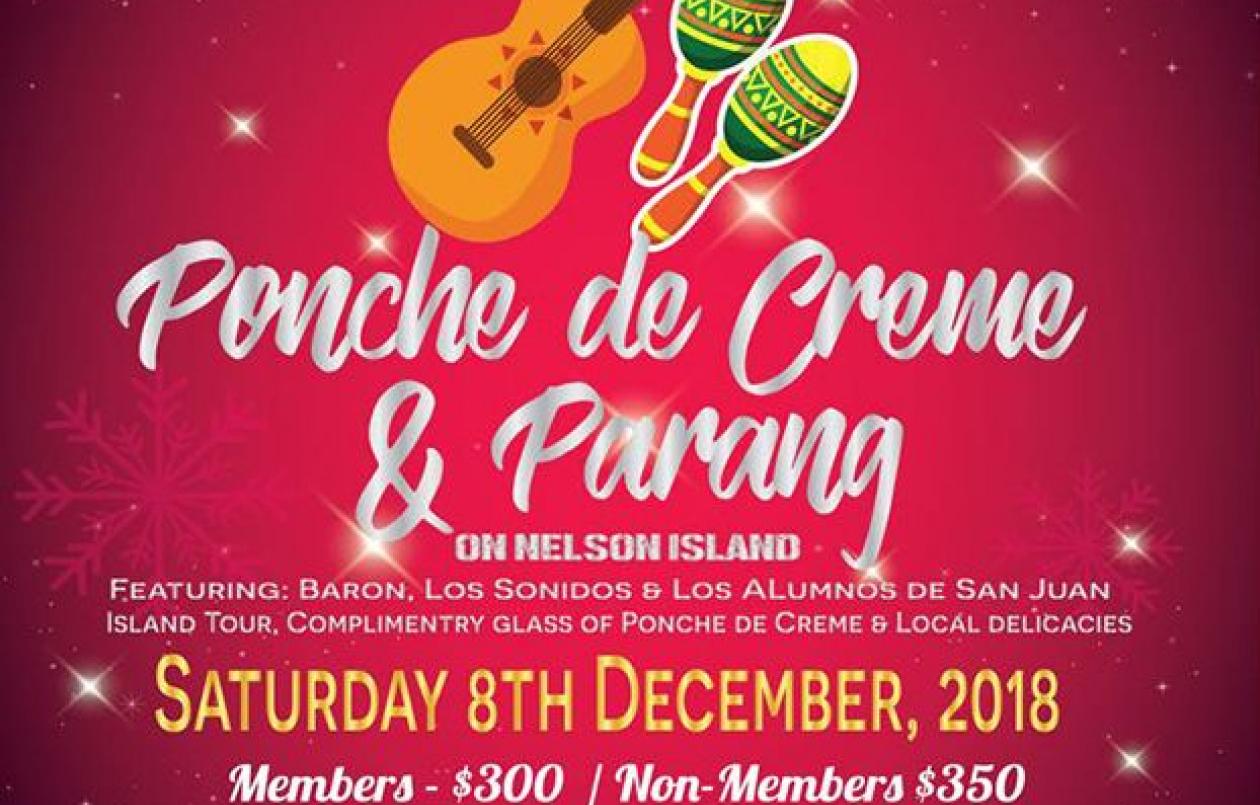 Ponche de Creme & Parang on Nelson Island 2018