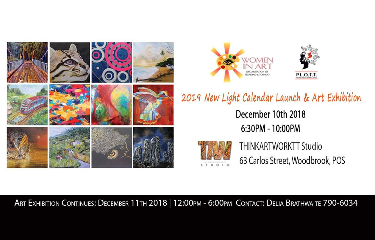 2019 New Light Calendar Launch & Art Exhibition