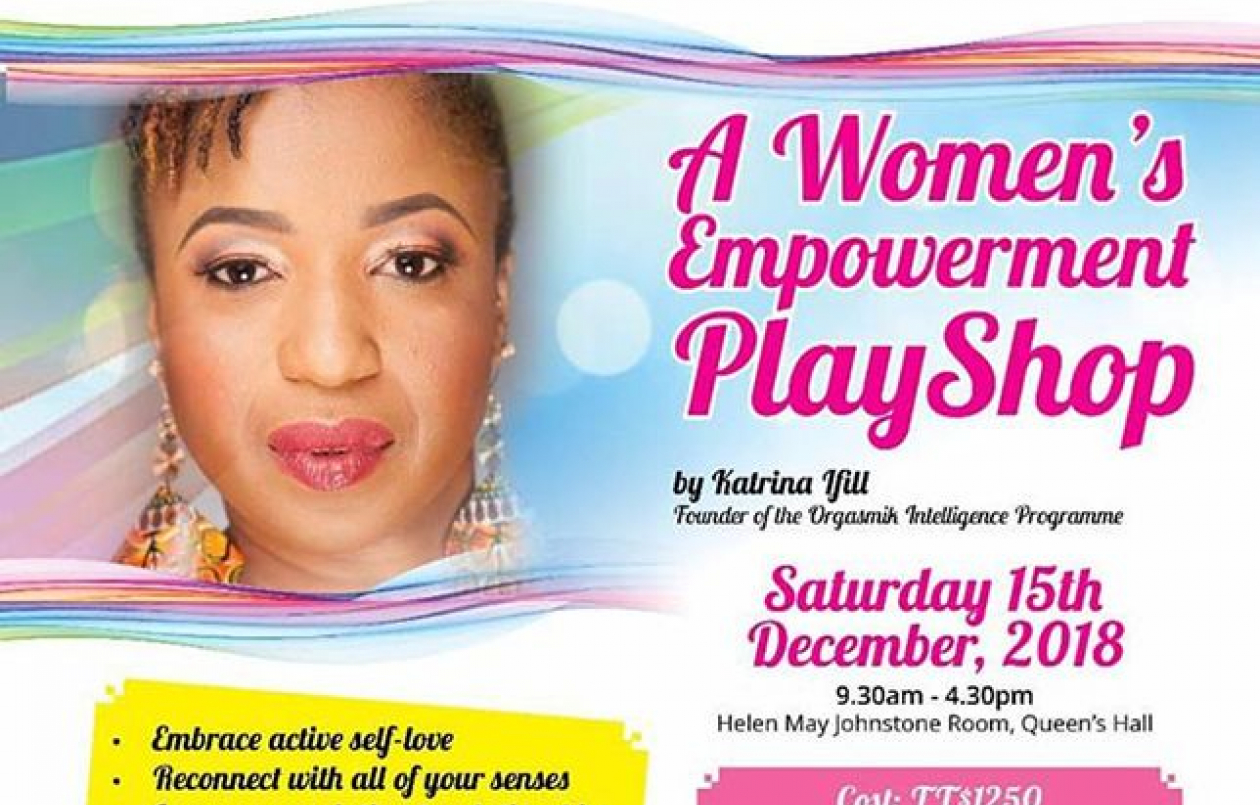 Give Yourself The Gift Of Intimacy: A Women's Empowerment Play Shop