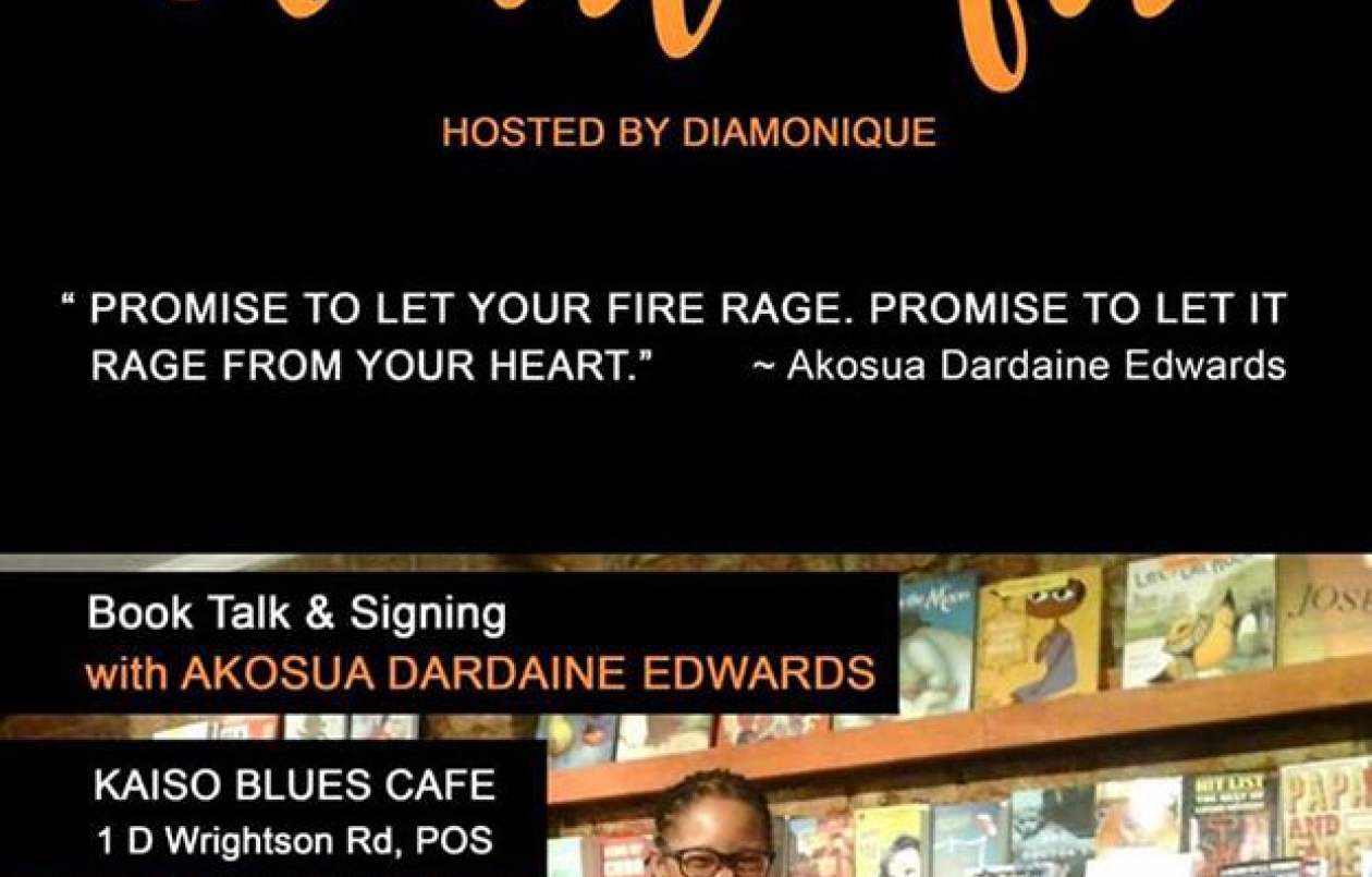 Heart Fire: Book Talk & Signing with Akosua Dardaine Edwards!