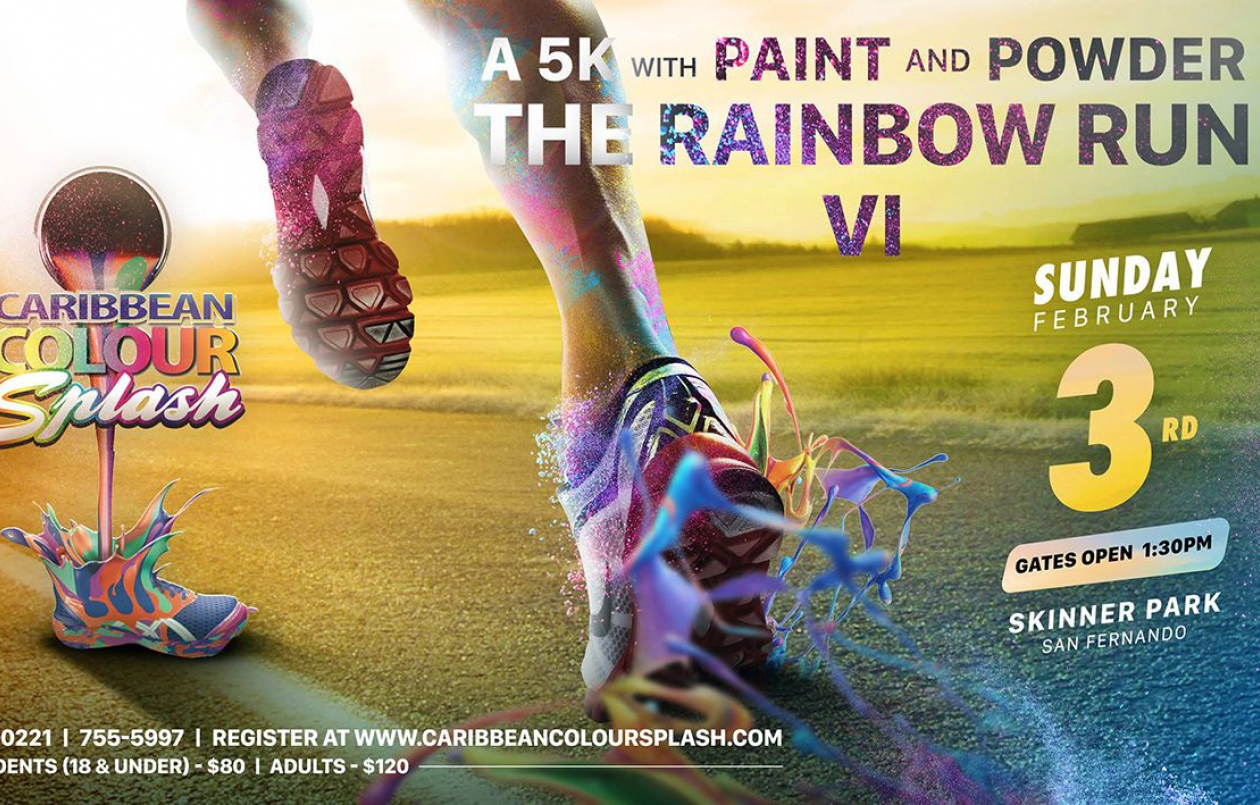Caribbean Colour Splash 5K 2019 - Skinner PARK