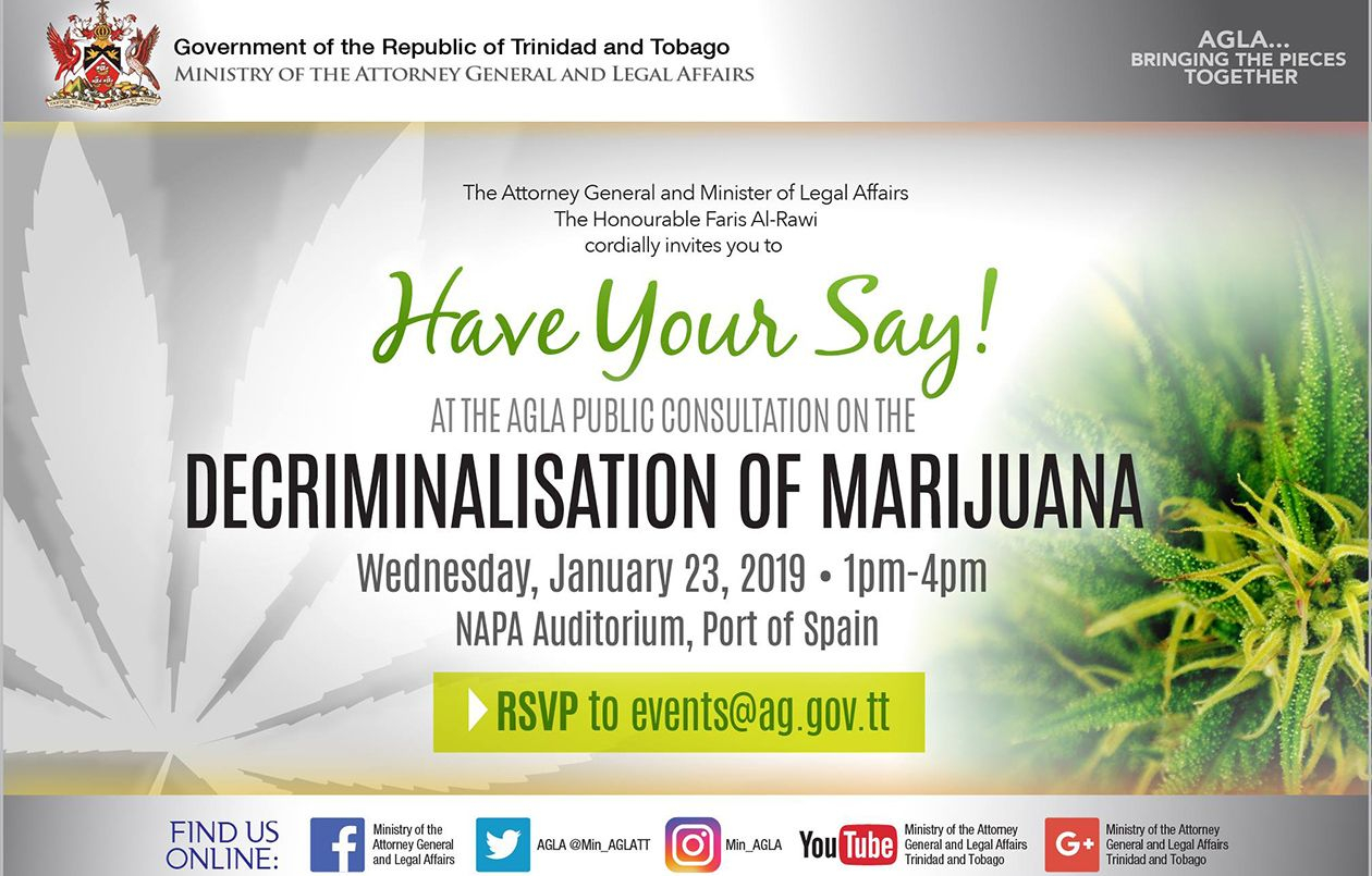 Public Consultation on the Decriminalisation of Marijuana