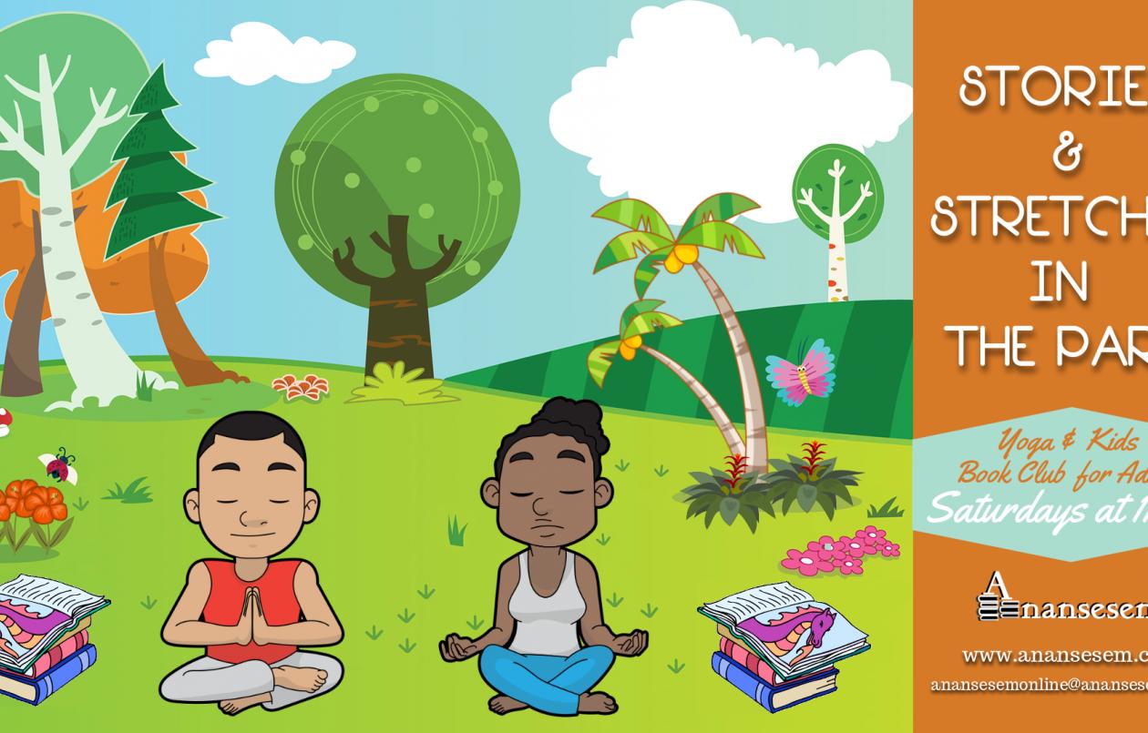 Stories & Stretches (Outdoor Yoga & Children's Lit Book Club)