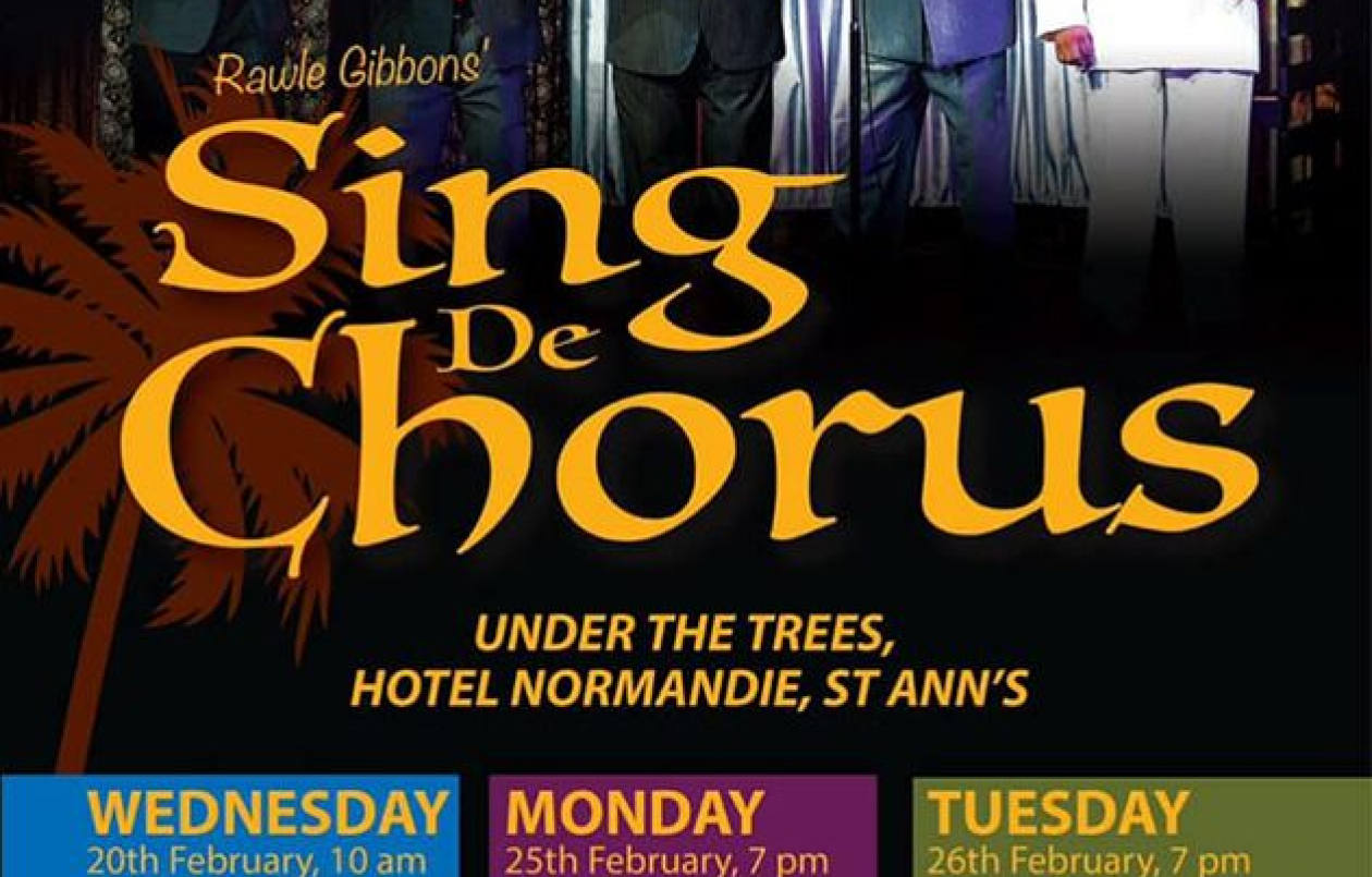 Under The Trees: Sing De Chorus