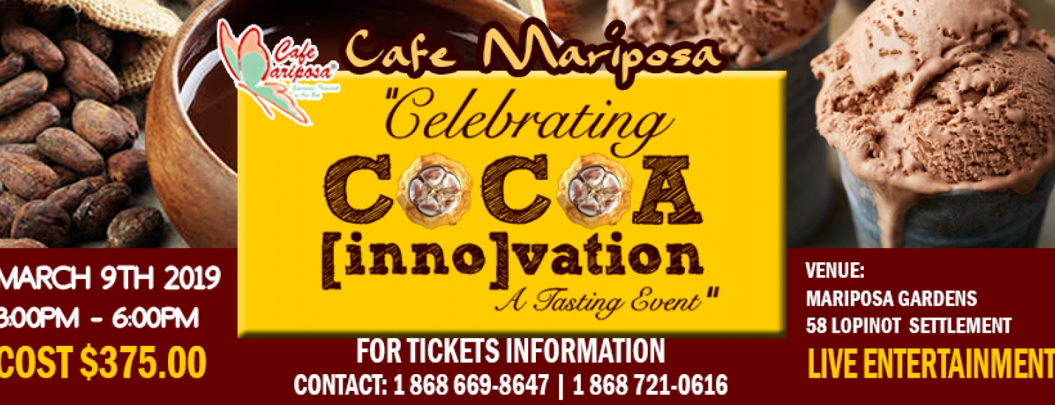 Celebrating Cocoa Innovation- A Tasting Event