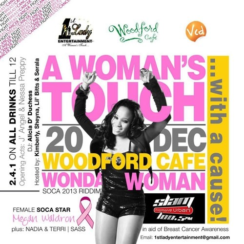 A Woman's Touch... With A Cause