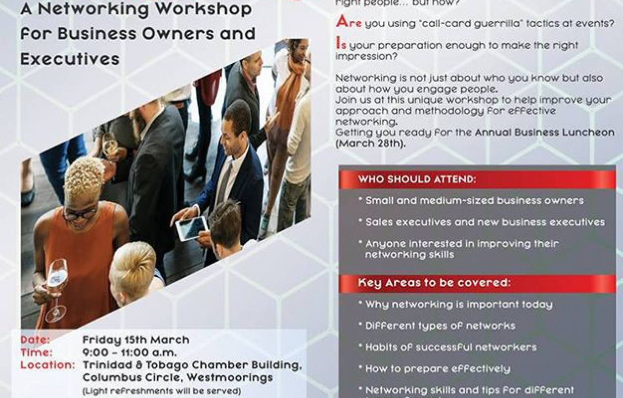 Meet the Right People, The Right Way: A Networking Workshop for Business Owners and Executives