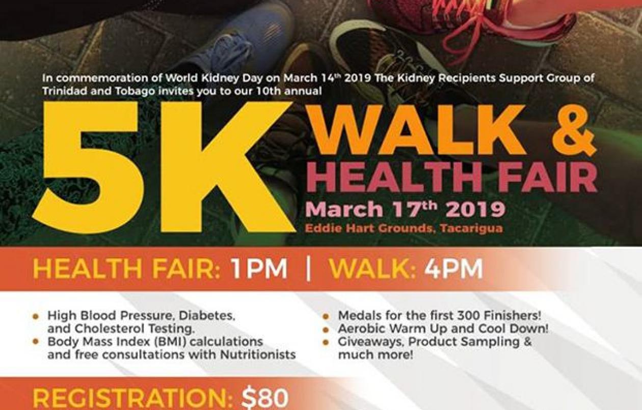 KRSGOTT 10th Annual Health Fair and Walkathon