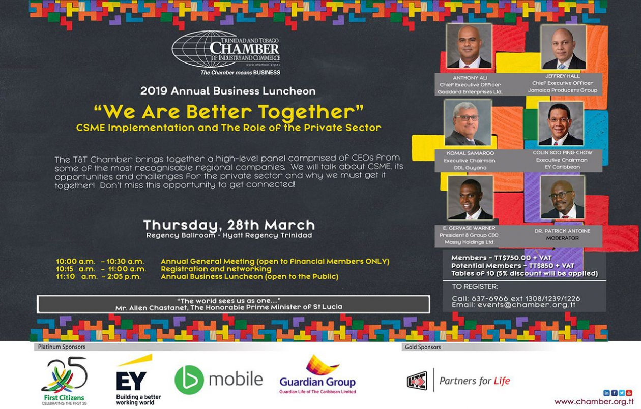 2019 Annual Business Luncheon: We are Better Together