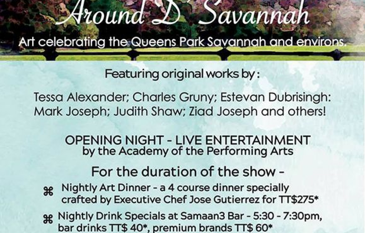 Art At The Hilton: Around D' Savannah