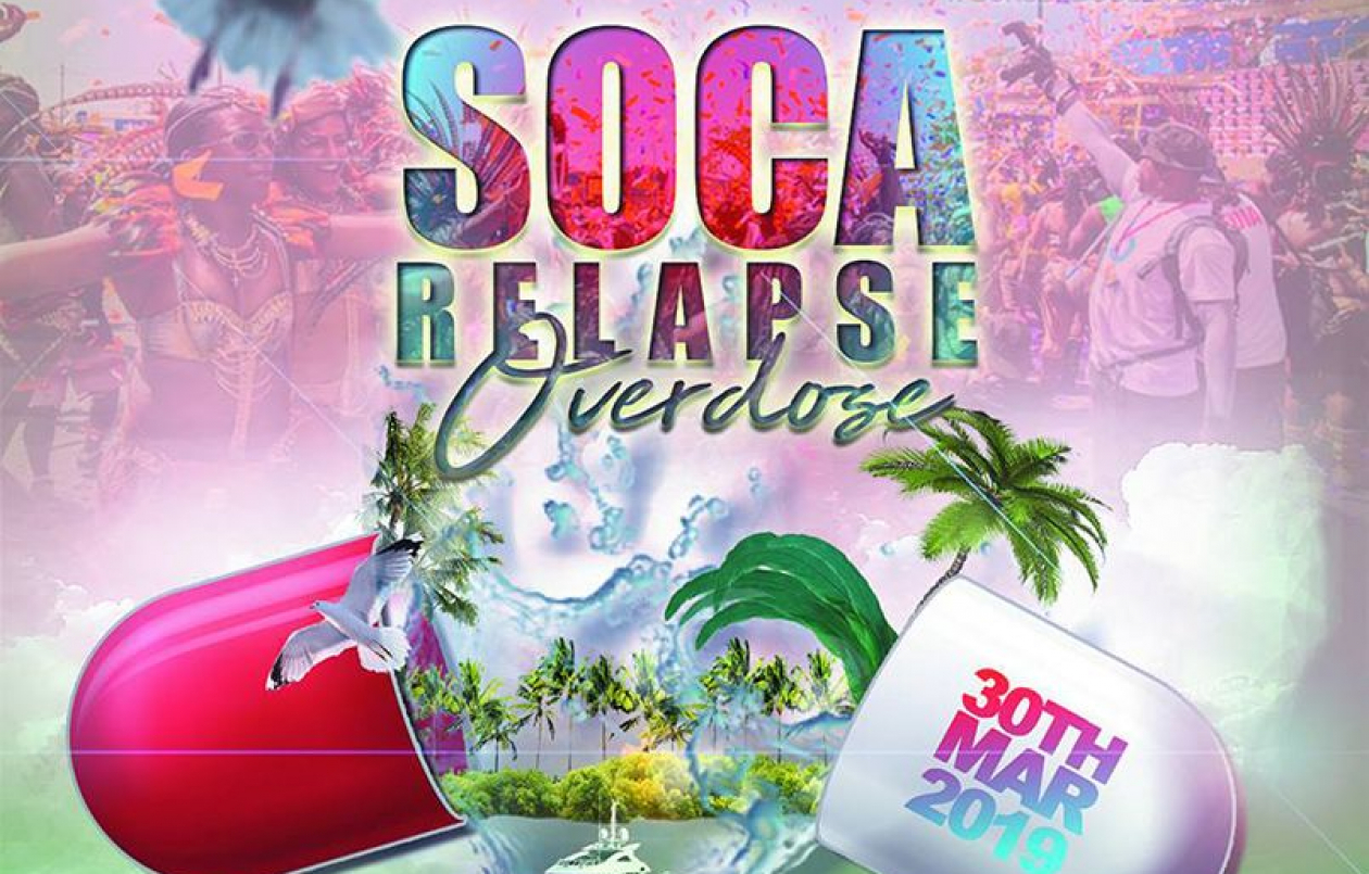 SOCA RELAPSE OVERDOSE... Sunset Cooler Cruise