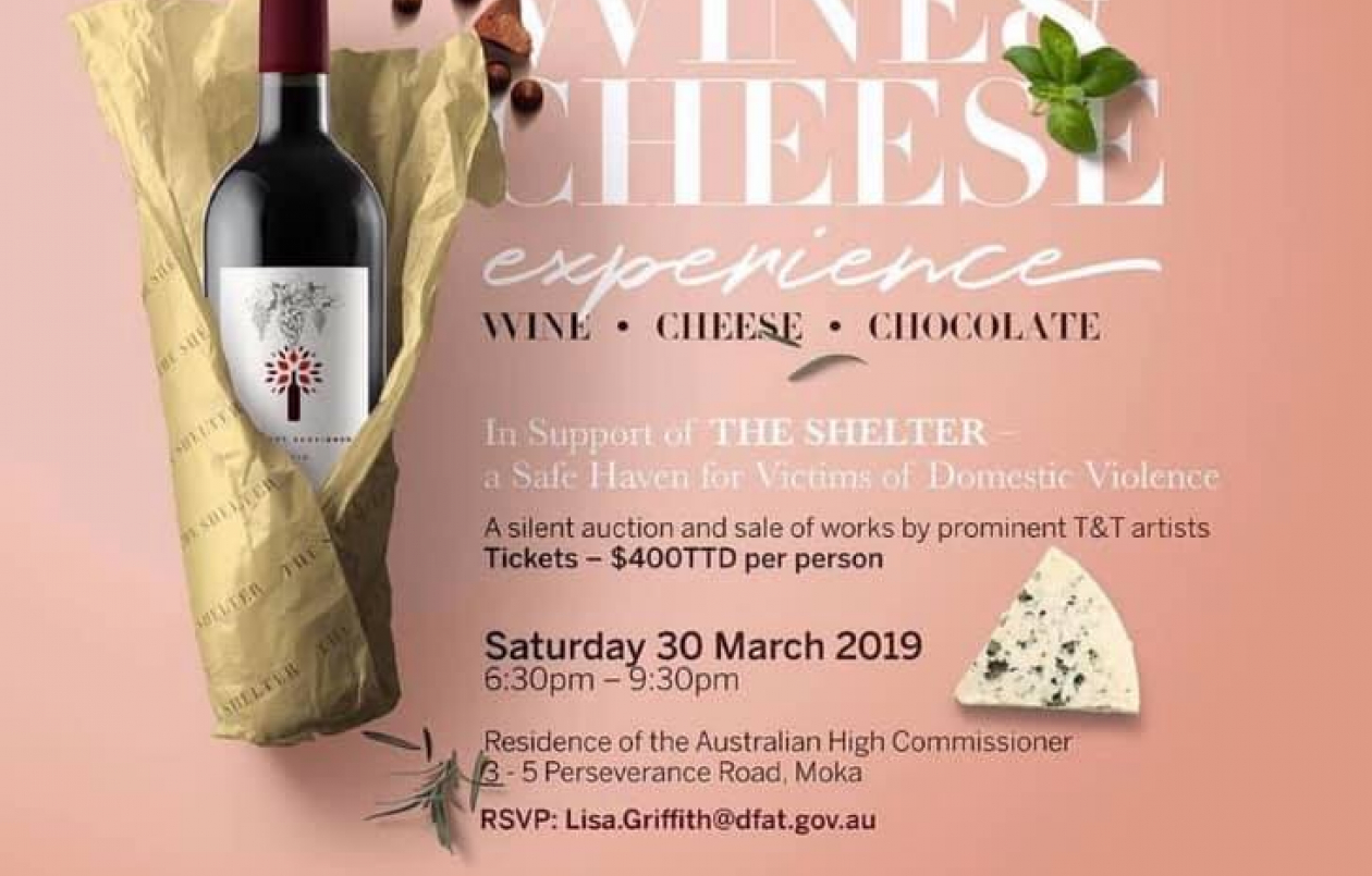 The Shelter's Wine and Cheese Experience 2019