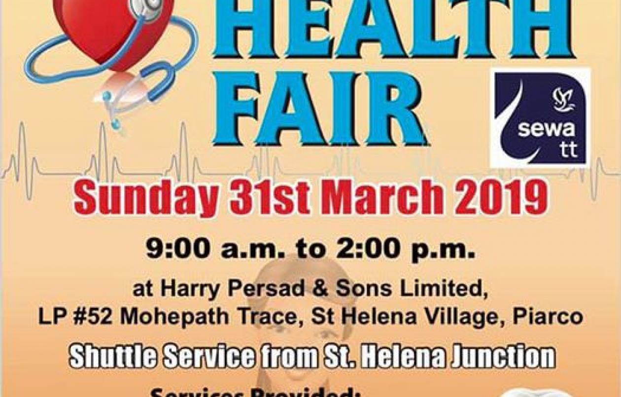 HPSL & SEWA Health Fair 2019
