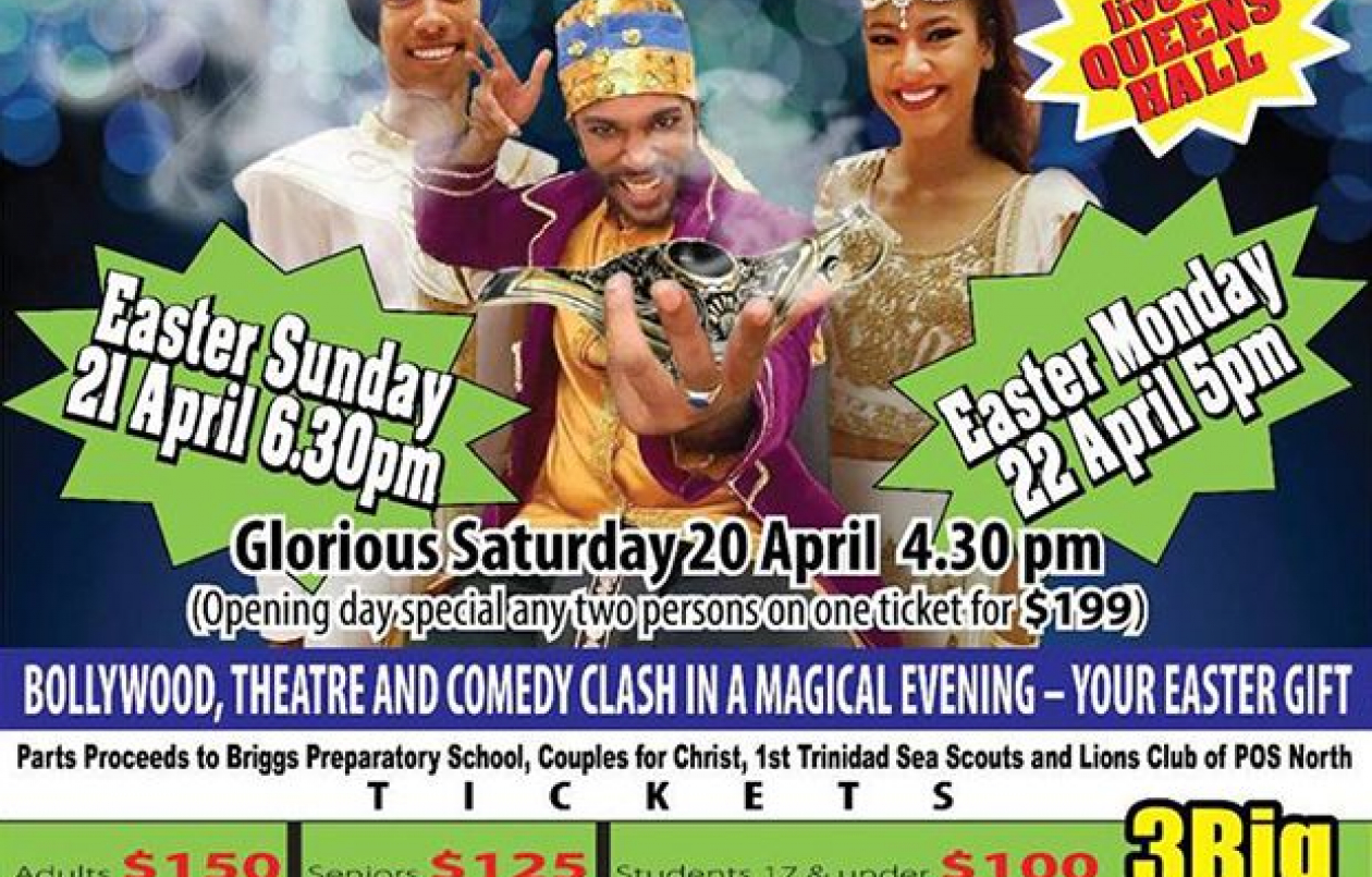 Aladdin, Ali Baba and the Bollywood Princess: 20 - 22 April 2019