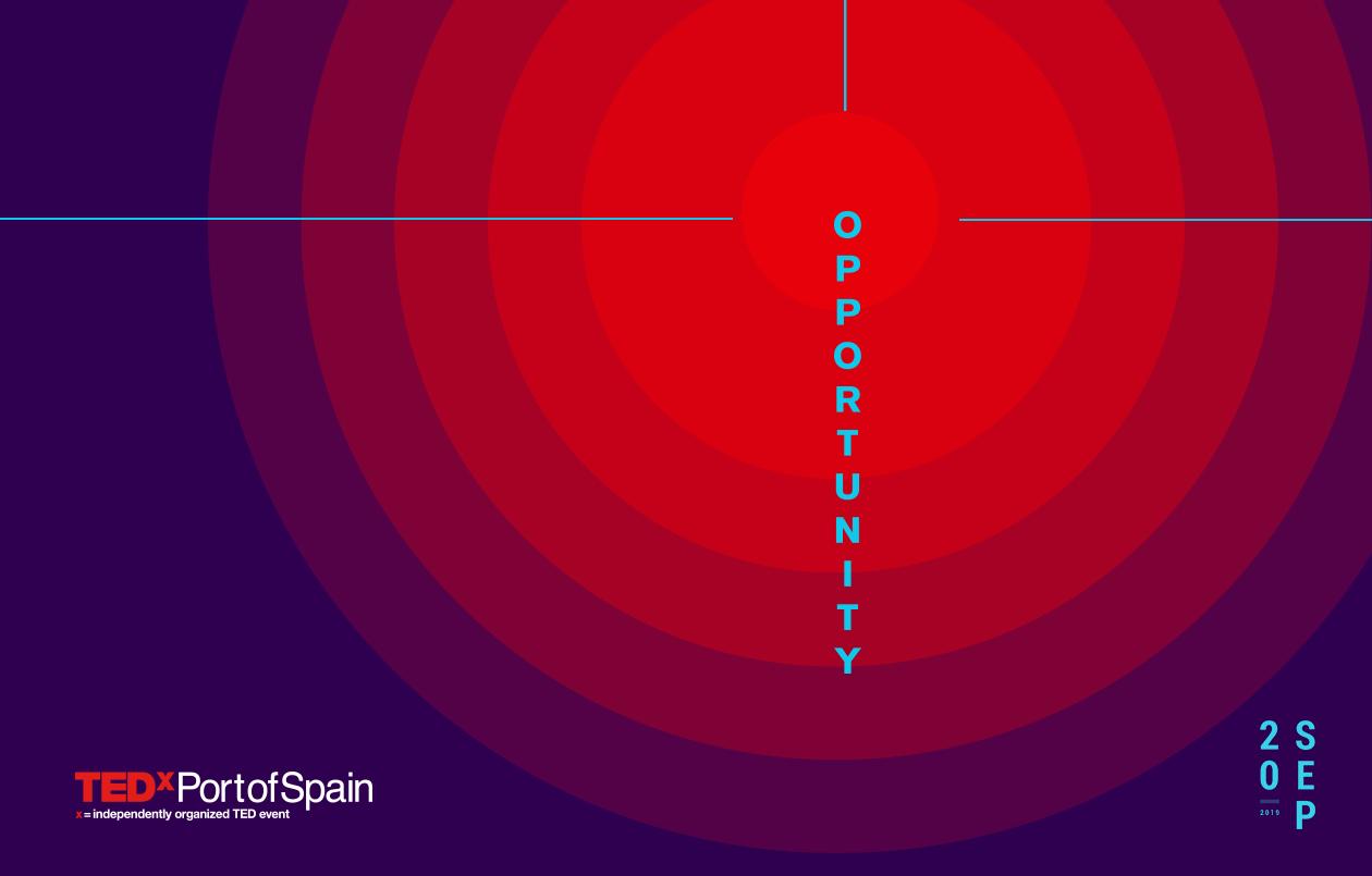 TEDxPortofSpain 2019