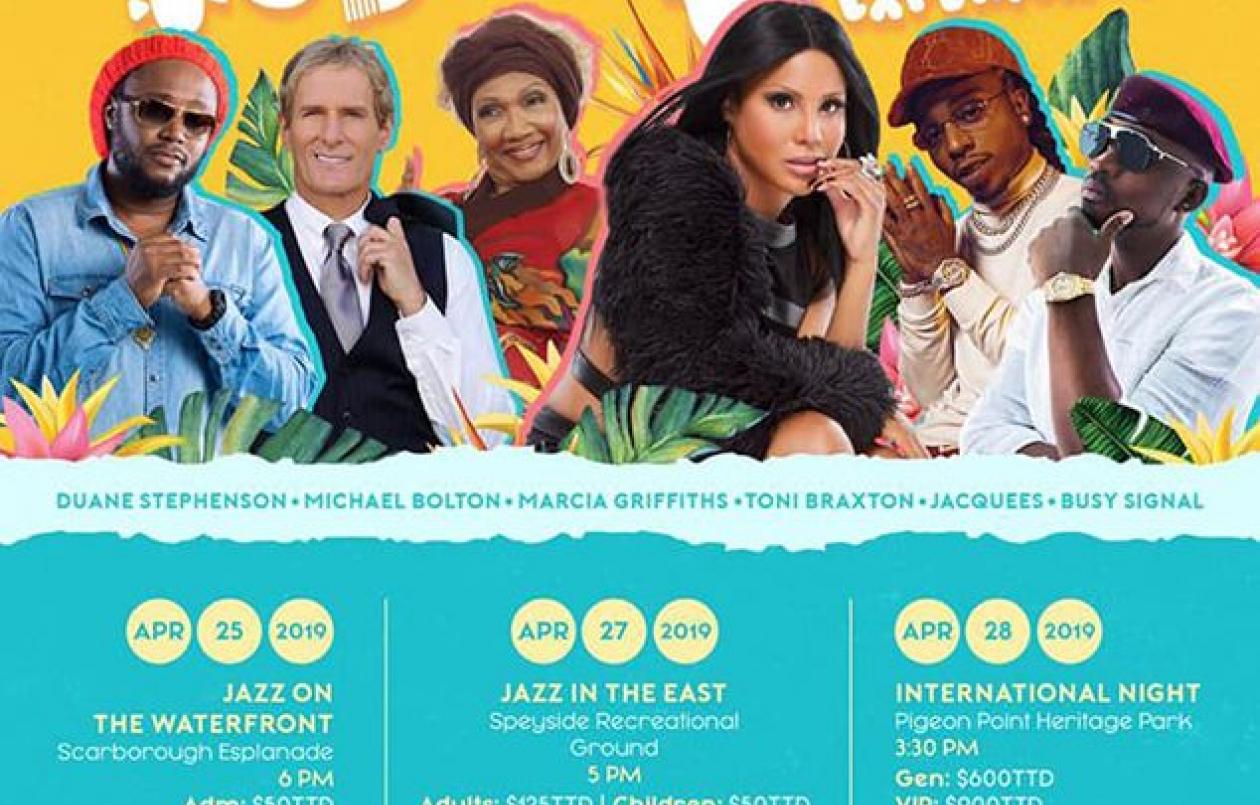 Tobago Jazz Experience 2019: International Night