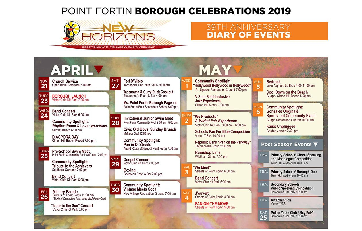 Point Fortin Borough Celebrations 2019: Feel D' Vibes