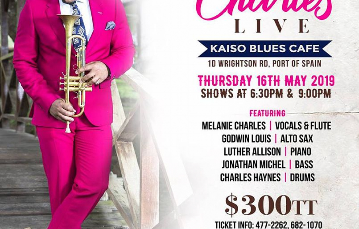 Etienne Charles Live at Kaiso Blues Cafe, Trinidad - 16.5.19