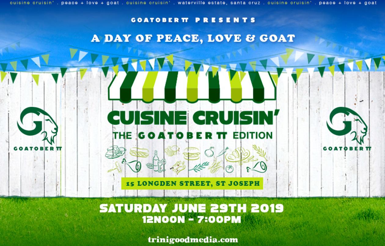 Cuisine Cruisin' - The GoatoberTT Edition